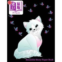 【中商海外直订】Beautiful Story Paper Book: Butterfly Kitten Cat St
