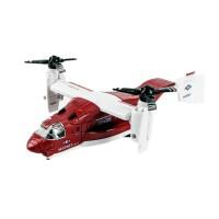 男孩合金飞机模型客机玩具仿真飞机轰炸机金属战斗机儿童飞机玩具 鱼鹰式飞机-红色 (裸盒)