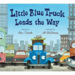 现货 英文原版 Little Blue Truck Leads the Way board book