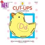 【中商海外直订】Cut-ups: Early Alphabet Skills