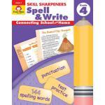 【预订】Skill Sharpeners Spell & Write Grade 4