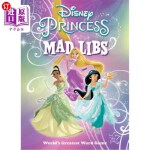 【中商海外直订】Disney Princess Mad Libs