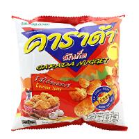 [当当自营] 泰国进口 卡啦哒 Carada 加油啦香辣鸡味米球(膨化食品)17g