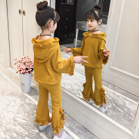 童装女童洋气秋装儿童套装2018新款韩版时髦潮衣女孩时尚两件套秋