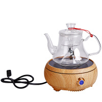 电陶炉煮茶器玻璃电热套装蒸汽蒸茶器全自动蒸茶壶家用蒸煮茶炉