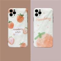 韩风ins夏日清新草莓11Pro Max苹果X/XS/XR手机壳iPhone7p女8plus硅胶个性创意全包防摔保护套1