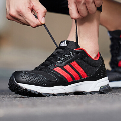 adidas阿迪达斯男鞋跑步鞋MARATHON 10休闲运动鞋AC8592欢庆元宵满300减30 满600减60 满900减90