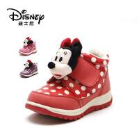 【达芙妮年货节】迪士尼 童鞋可爱米妮女童波点小童时装鞋