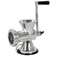 晋腾 吸盘式手摇家用绞肉机 手动铝合金碎肉机 手摇灌香肠机