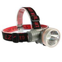 户外led头灯强光远射可充电头戴式手电筒夜钓割胶矿灯三合一头灯