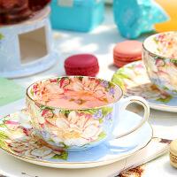 欧式咖啡杯套装骨瓷英式下午茶茶具红茶杯子陶瓷创意