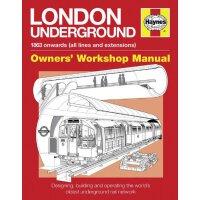 英文原版 Haynes手册 伦敦地铁大揭秘 London Underground (Owner's Workshop