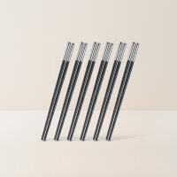 磨砂合金筷