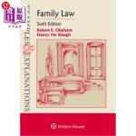 【中商海外直订】Examples & Explanations for Family Law