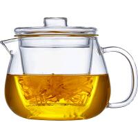 玻璃茶壶单壶耐热高温过滤小号花茶壶家用