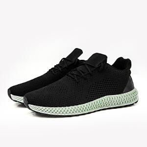 2019春季新款男士飞织网红爆款飞织运动鞋舒适跑步鞋