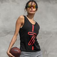 夏季运动背心女宽松跑步紧身T恤弹力无袖透气篮球速干健身背心男