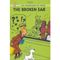 Tintin Young Readers Edition #6: The Broken Ear 丁丁历险记・破损的耳朵(特别版)ISBN 9780316133852