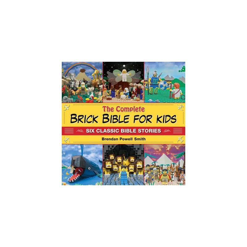 【预订】The Complete Brick Bible for Kids: Six Classic Bible Stories 预订商品,需要1-3个月发货,非质量问题不接受退换货。