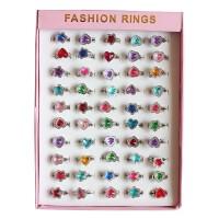 儿童玩具女孩可爱戒指水晶钻石宝石公主卡通饰品女孩过家家