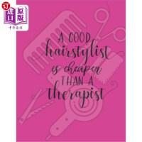 【中商海外直订】A good hairstylist is cheaper than a therapist: App