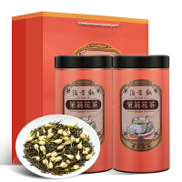 浓香型茉莉花茶散装罐装花草茶绿茶叶500g