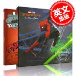 现货 蜘蛛侠:英雄远征 电影艺术设定集画册 英文原版 Spider-Man:Far from Home The Art