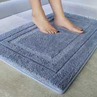 加厚浴室门口地垫门垫进门家用卧室地毯厨房卫生间吸水脚垫防滑垫