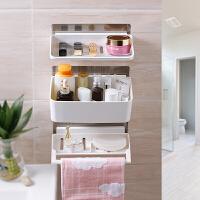 20190301053549014卫生间吸盘置物架浴室用品厨房吸壁式洗手间厕所收纳架壁挂免打孔