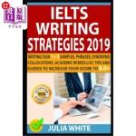 【中商海外直订】Ielts Writing Strategies 2019: Writing Task 1 + 2 S