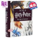 【中商原版】哈利波特艺术画册设定集:神奇动物迷你书 英文原版 The Art of Harry Potter: Min