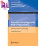 【中商海外直订】Evaluation of Novel Approaches to Software Engineer