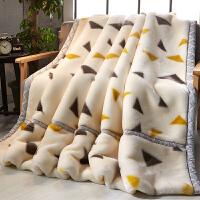 珊瑚绒毯子加厚冬季保暖法兰绒毛毯垫床单午睡单人宿舍学生小被子 双层加厚200x230cm 约9斤