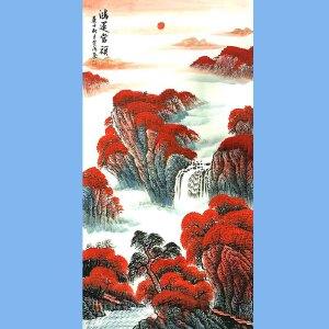 国家一级美术师,中国书画家协会会员范海(鸿运当头)
