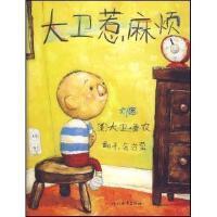 大卫惹麻烦 精装 大卫系列彩色绘本图画书 3-4-5-6儿童启蒙学习认知读物 启发畅销绘本 亲子读物 幼儿童睡前图画故