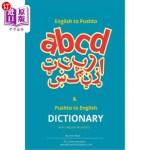 【中商海外直订】English to Pashto & Pashto to English Dictionary wi