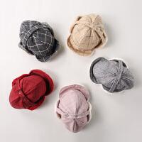 婴儿帽子秋冬季女童男童帽女宝宝帽子儿童护耳帽冬潮