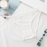 情趣内衣女性感纯棉档包臀超薄透明蕾丝低腰三角镂空内裤无痕 均码