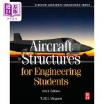 【中商海外直订】Aircraft Structures for Engineering Students