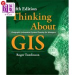 【中商海外直订】Thinking about GIS: Geographic Information System P