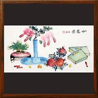 《如意图》周玉兰【R4476】浙江美协 油画家协会会员