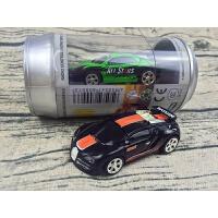 小型可乐罐遥控车易拉罐遥控车高速迷你漂移车充电遥控车 橙+黑 27hz创新款