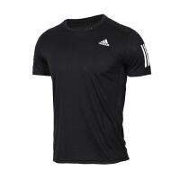 Adidas阿迪�_斯 男�b �\�有蓍e跑步透�舛绦�T恤 DX1312