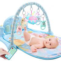 男孩女宝宝玩具0-3-6-12个月益智带音乐1岁婴儿脚踏琴音乐健身架