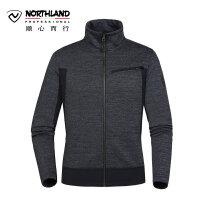 【诺诗兰开学季低至2折】诺诗兰新款男士休闲户外羊毛保暖绒外套GF075511