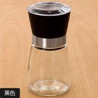 手动胡椒研磨器厨房用品碾磨花椒研磨瓶玻璃调料调味瓶磨粉器瓶子