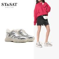 St&Sat/星期六新款秋鞋深口绒里老爹鞋单鞋女SS94112364