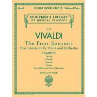 【预订】Antonio Vivaldi - The Four Seasons, Complete: For Violi
