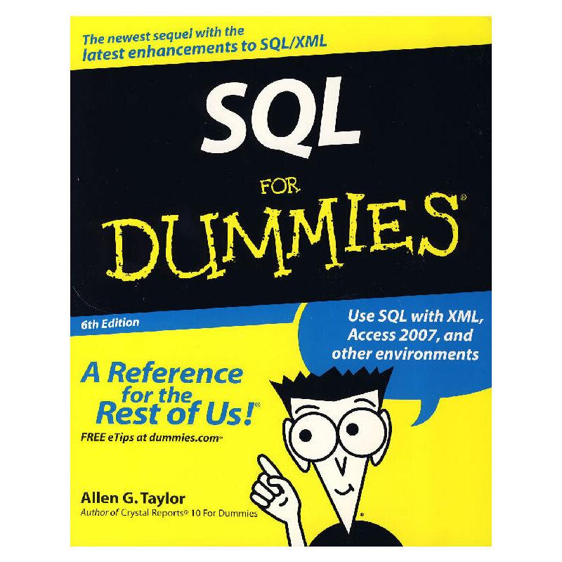SQL 傻瓜书 SQL For Dummies PDF下载