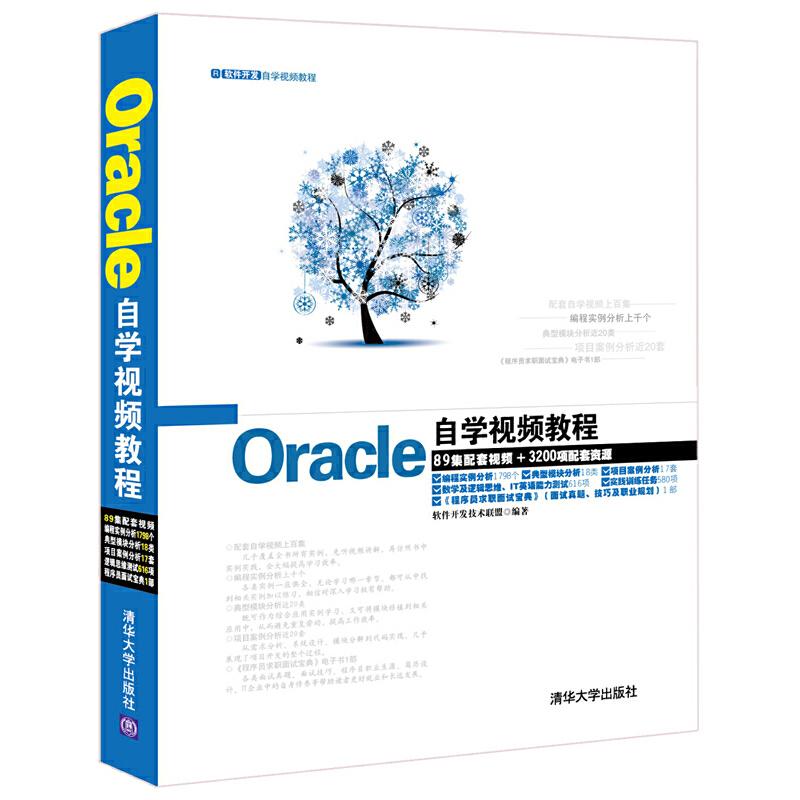 Oracle自学视频教程(配光盘)(软件开发自学视频教程) PDF下载